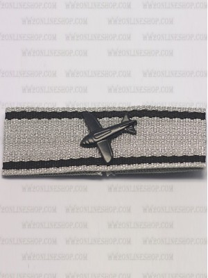 Replica of Aircraft Destruction Badge in Silver (WWII German Badges) for Sale (by ww2onlineshop.com)