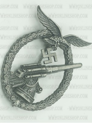 Replica of Anti-Aircraft Flak Battle Badge (Flak-Kampfabzeichen der Luftwaffe) (WWII German Badges) for Sale (by ww2onlineshop.com)