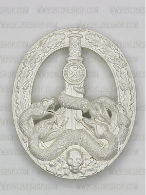 Replica of Anti-Partisan Guerrilla Warfare Badge ( Bandenkampfabzeichen)  in Silver (WWII German Badges) for Sale (by ww2onlineshop.com)
