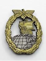 Auxiliary Cruiser Badge (Kriegsabzeichen für Hilfskreuzer)