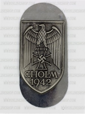 Replica of Cholm Shield (German: Cholmschild) (WWII German Badges) for Sale (by ww2onlineshop.com)