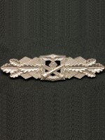 Close Combat Clasp in Silver