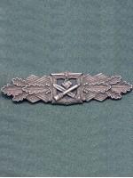 Close Combat Clasp in Silver(Antique Finish)