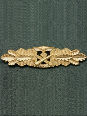 Replica of Close Combat Clasp (Nahkampfspange) in Gold (WWII German Badges) for Sale (by ww2onlineshop.com)