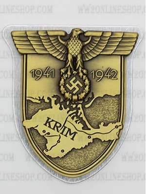 Replica of Crimea Shield (German: Krimschild) (WWII German Badges) for Sale (by ww2onlineshop.com)