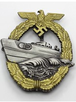 E-boat Badge Late Version (Torpedo Boat War Badge)