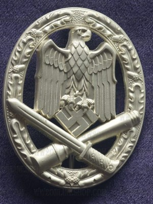 Replica of General Assault Badge (Allgemeines Sturmabzeichen) (WWII German Badges) for Sale (by ww2onlineshop.com)
