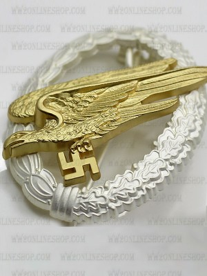 Replica of German Armed Forces Parachutist Badge (Fallschirmspringerabzeichen) (WWII German Badges) for Sale (by ww2onlineshop.com)