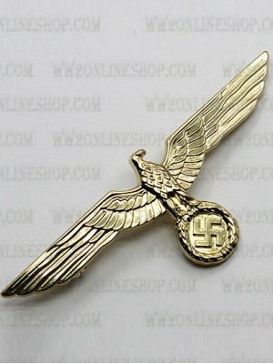 Replica of Heer Breast Eagle in Gold (WWII German Badges) for Sale (by ww2onlineshop.com)