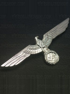 Replica of Heer Breast Eagle in Silver (WWII German Badges) for Sale (by ww2onlineshop.com)