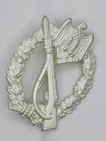 Infantry Assault Badge  in Silver (German: Infanterie-Sturmabzeichen)