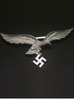 Luftwaffe Breast Eagle in Silver