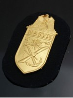 Narvik Shield (German: Narvikschild) in Gold