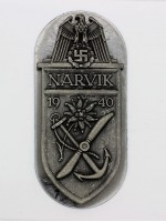 Narvik Shield (German: Narvikschild) in Silver