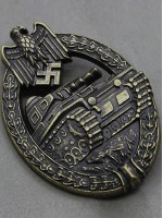 Panzer Assault Badge (Panzerkampfabzeichen) in Bronze