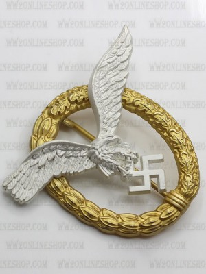 Replica of Pilot/Observer Badge (Flugzeugführer- und Beobachterabzeichen) (WWII German Badges) for Sale (by ww2onlineshop.com)