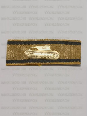 Replica of Tank Destruction Badge in Gold (WWII German Badges) for Sale (by ww2onlineshop.com)