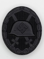 Wound Badge (German: Verwundetenabzeichen) in Black