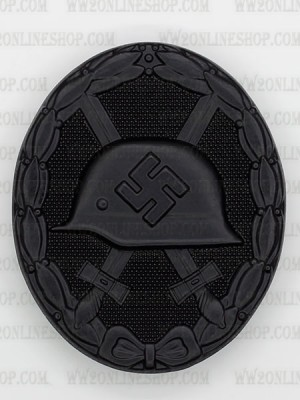 Replica of Wound Badge (German: Verwundetenabzeichen) in Black (WWII German Badges) for Sale (by ww2onlineshop.com)