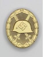 Wound Badge (German: Verwundetenabzeichen) in Gold