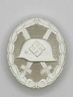 Wound Badge (German: Verwundetenabzeichen) in Silver