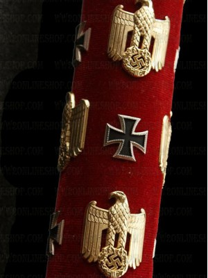 Replica of Field Marshal Baton for Erwin Rommel (Marschallstab) (German Marschallstab) for Sale (by ww2onlineshop.com)