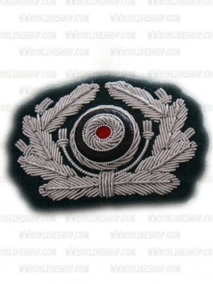 Replica of Embroidered Heer Cap Wreath & Cockade (Cap Badges) for Sale (by ww2onlineshop.com)