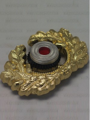Replica of Heer Cap Wreath& Cockade in Gold (Cap Badges) for Sale (by ww2onlineshop.com)