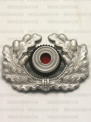 Replica of Heer Cap Wreath & Cockade in Silver (Cap Badges) for Sale (by ww2onlineshop.com)