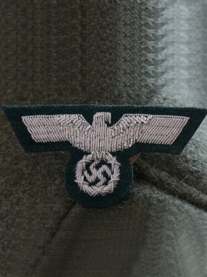 Replica of Heer officer Cap Eagle (Cap Badges) for Sale (by ww2onlineshop.com)