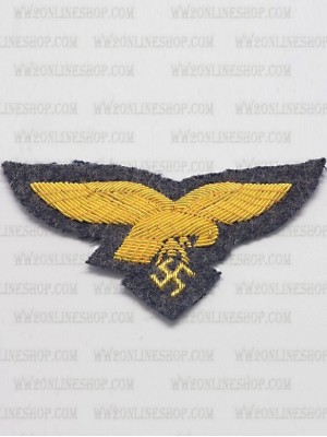 Replica of Luftwaffe General Officer Cap Eagle (Cap Badges) for Sale (by ww2onlineshop.com)