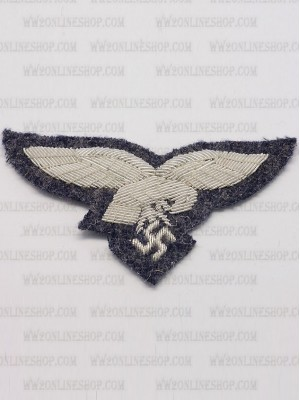 Replica of Luftwaffe Officer Cap Eagle (Cap Badges) for Sale (by ww2onlineshop.com)