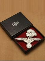 SS Cap Skull & Eagle