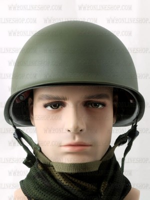 Replica of WWII United States Military M1 Combat Helmet () for Sale (by ww2onlineshop.com)