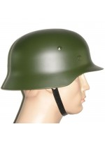 WW2 German M35 Steel Helmet in Field Green
