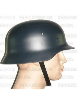 Replica of WW2 German M35 Steel Helmet in Field Grey (Helmets) for Sale (by ww2onlineshop.com)
