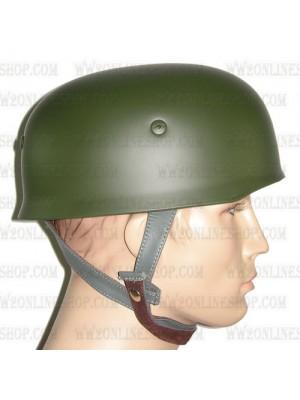 Replica of WW2 German Paratrooper M38 Steel Helmet in Field Green (Helmets) for Sale (by ww2onlineshop.com)