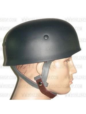 Replica of WW2 German Paratrooper M38 Steel Helmet in Field Grey (Helmets) for Sale (by ww2onlineshop.com)