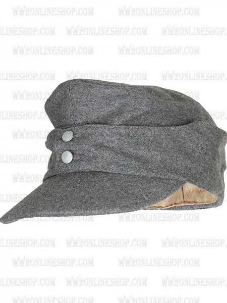 81c00b19224225 Replica of German Army EM M43 Grey Wool Field Cap (Caps) for Sale (