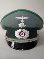 Heer offizier gebirgsjäger schirmmütze (Officers Visor Cap)