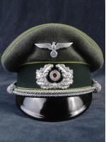 Heer Panzer Grenadier Officer Peak Visor Cap