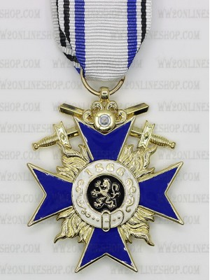 Replica of Bavarian Military Merit Cross 3rd Class (WWI Medals & Awards) for Sale (by ww2onlineshop.com)