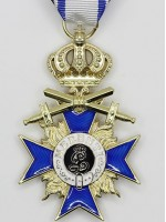 Bavarian Military Merit Cross 3rd Class with Crown and Swords