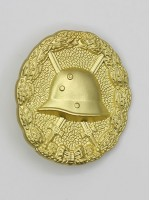 First War 1918 Wound Badge in Gold (Verwundetenabzeichen)