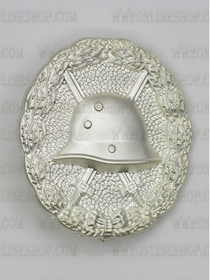 Replica of First War 1918 Wound Badge in Silver (Verwundetenabzeichen) (WWI Medals & Awards) for Sale (by ww2onlineshop.com)