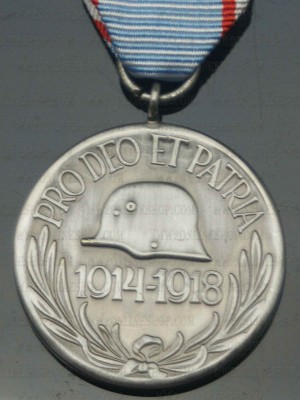 Replica of Hungary WWI Commemorative Medal (WWI Medals & Awards) for Sale (by ww2onlineshop.com)