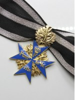 Pour le Mérite (German Blue Max) with Oakleaf