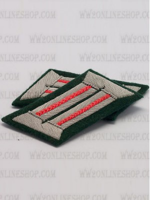 Replica of Heer Officer Collar Tabs(Artillerist) (German Collar Tabs) for Sale (by ww2onlineshop.com)