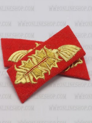 Replica of Heer Officer Collar Tabs(General) (German Collar Tabs) for Sale (by ww2onlineshop.com)
