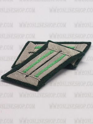 Replica of Heer Officer Collar Tabs(Mountain Troop) (German Collar Tabs) for Sale (by ww2onlineshop.com)